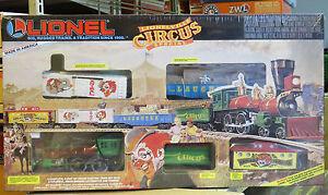 LIONEL Lionelville Circus Special SET o gauge train 6-11716 SEALED NIB NR bmk
