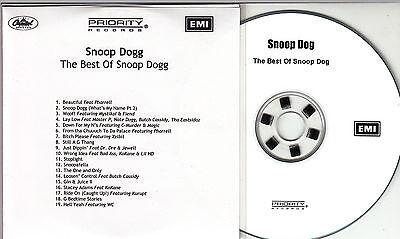 SNOOP DOGG The Best Of 2005 UK 19-track promo test CD Pharrell Williams Dr