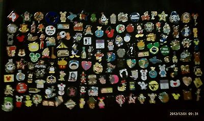Disney Trading Pins-Lot of 100-No Duplicates-LE-HM-Rack-Cast-Free Shipping-A