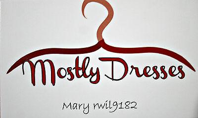 Mostly Dresses