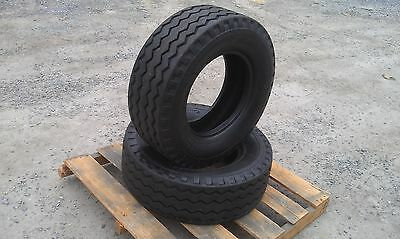 2 New Backhoe Tires 11l-16 - F3 12 Ply Rating -11lx16 Backhoeimplement Tires
