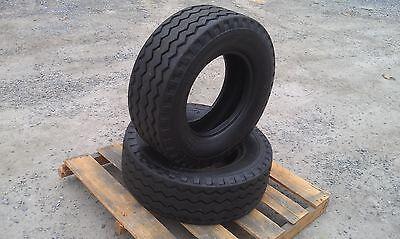 2 New Backhoe Tires 11l-16 - F3 14 Ply Rating -11lx16 Backhoeimplement Tires