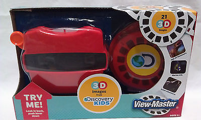 Viewing Images - VIEW-MASTER Viewmaster 21 3D images DISCOVERY KIDS Dinosaurs marine safari NEW