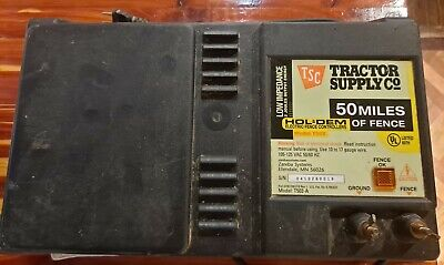 Hol-dem Zareba Tractor Supply Electric Fencer Fence Charger Model T502-a 120 V