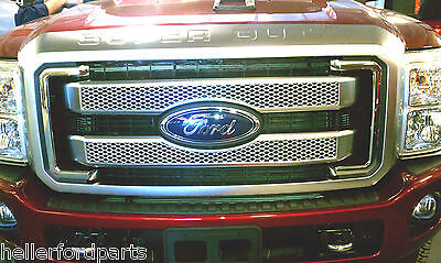 2011-2016  FORD F250 F350 FORD SUPER DUTY PLATINUM GRILLE SHARP