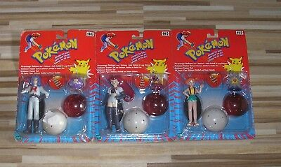 Pokemon OVP Figuren Trainer Misty James Jesse Team Rocket Pokeball Tomy (Jesse Figur)