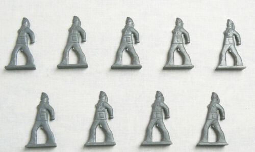 Vintage Soviet Russian 9 pcs Tin Pewter Soldiers Revolution Sailors Toys USSR