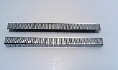 "3/8"" Long 3/8"" Crown 22 Gauge Galvanized Upholstery Staples"