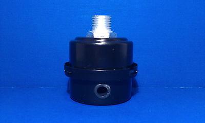 Air Compressor Intake Filter Silencer 38 Inch Npt Metal Housing Paper Element