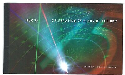 GREAT BRITAIN - CELEBRATING 75 YEARS OF THE BBC - see scan