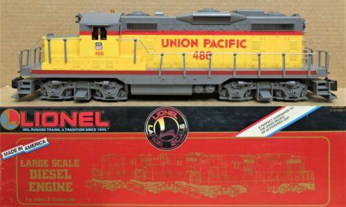 Lionel 8-85007 UP/Union Pacific GP-20 Diesel Engine Non-Powered Dummy G-Gauge LN