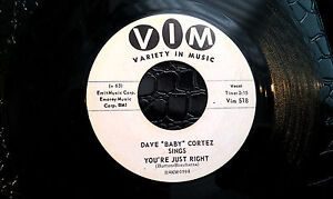 DAVE-BABY-CORTEZ-45RPM-LET-ME-COME-HOME-YOURE-JUST-RIGHT