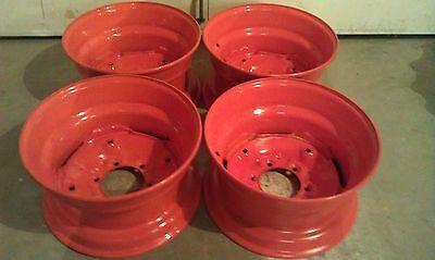 4 NEW Rims for Bobcat M600-16 5X8 25X6 fit 10X16 5 tires