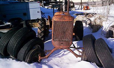 Allis Chalmers B Tractor Fenders 1939