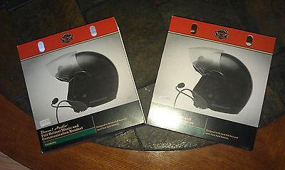 Harley Davidson Ultra Premium Stereo Headsets ( 2 Set ) New !!!!