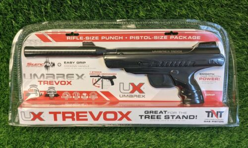 Umarex Trevox .177 Cal Break Barrel Pellet Air Pistol, 540FPS, Black - 2251348