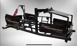 Sim racing Simxperience stage 4 simulator, with seat and belts