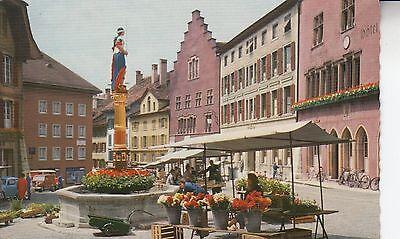 Postkarte - Biel-Bienne / Place du Bourg