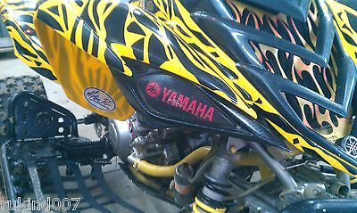 NEW RAPTOR 700 YFZ 450 Black/Red YAMAHA HeadLight Covers SALE MUST HAVE ITEM