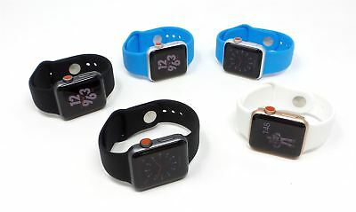 Apple Watch Series 3 GPS/Cellular 38mm/42mm Gray/Gold/Silver Various Cases Bare