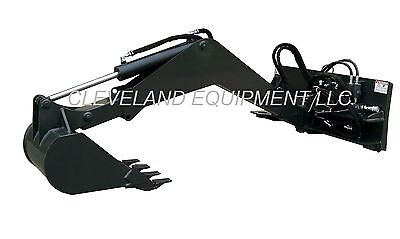 Swing Arm Backhoe Boom Attachment Excavator Skid Steer Loader Bobcat New Holland