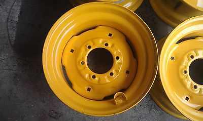 6 Lug Skid Steer Wheelrim For John Deere Fits 675 4475 5575-for 10-16.5 Tires