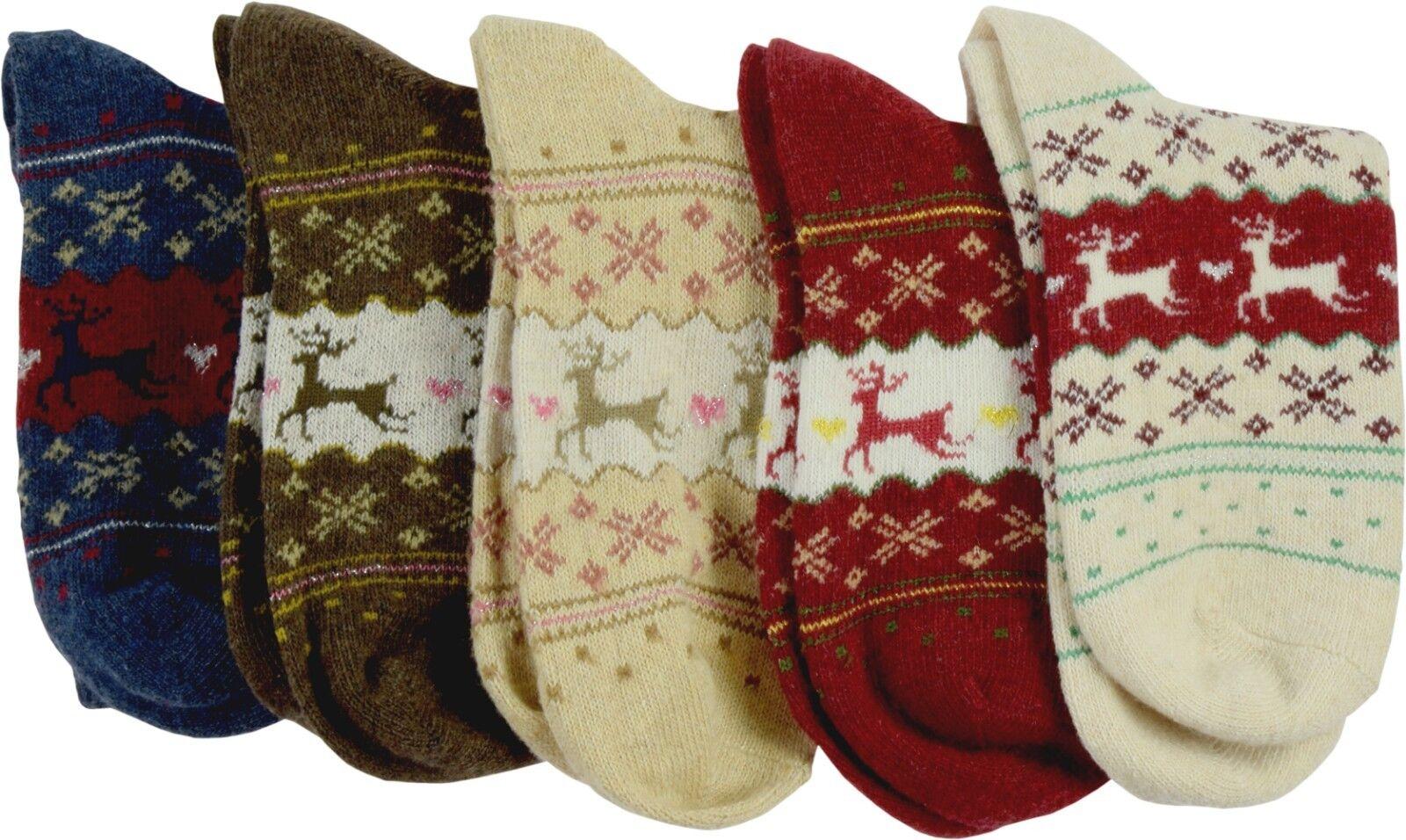 Pealu dicke RENTIER Socken (33-40) atmungsaktiv Baumwolle - verschiedene Designs