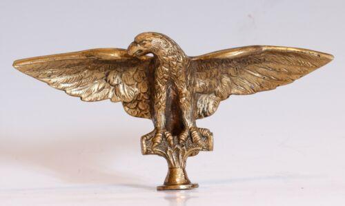 Vintage Solid Brass Eagle Finial/Topper, Nice detail