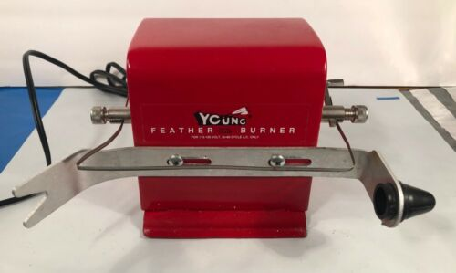 """Young Feather Burner """"trims and shapes feather fletchings"""" &Feather Profiles"""
