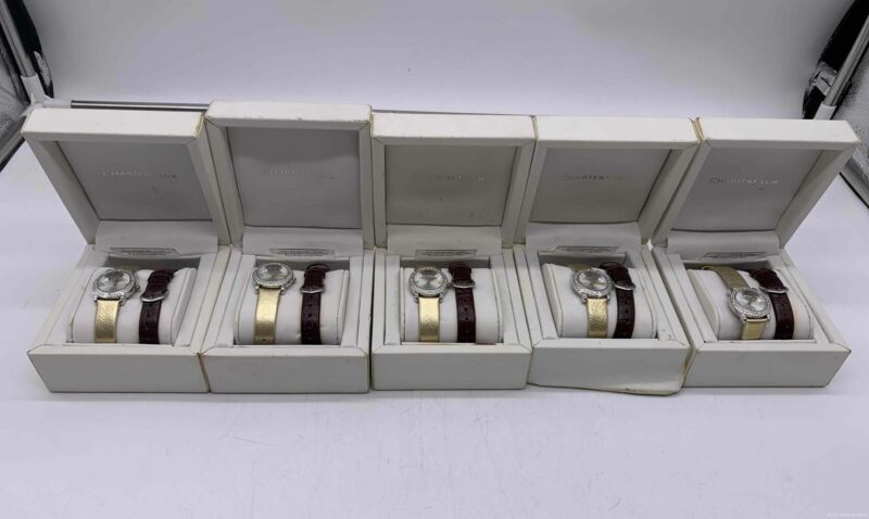Bulk Lot of 5 Charter Club Watches with interchangeable band