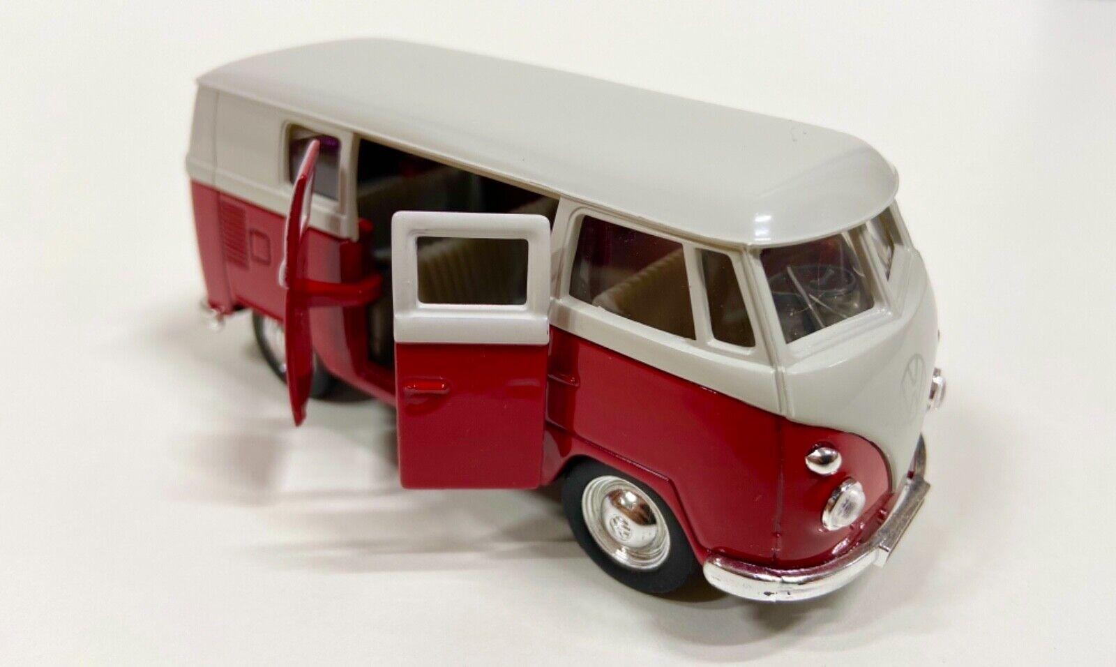 Welly 1:37 VW Bus T1 Bully rot/weiß  Klassiker  Modellauto  Oldtimer  ,,NEU''
