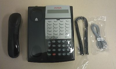 Refurb Partner Avaya Euro 18d Series 2 Black Office Display Telephone