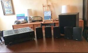 JVC Surround Amp with Paradigm Speakers $150