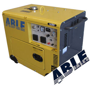 GENERATOR DIESEL 5.5KVA 240V Single Phase