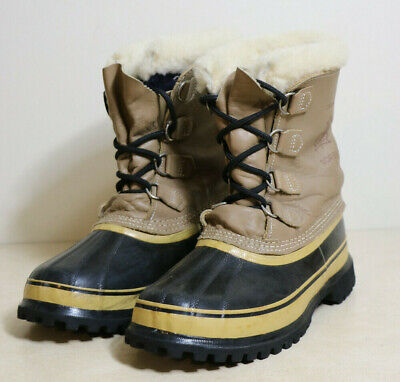 Womens Sorel Caribou  Hand Crafted Waterproof Insulated Duck Snow Winter Boots