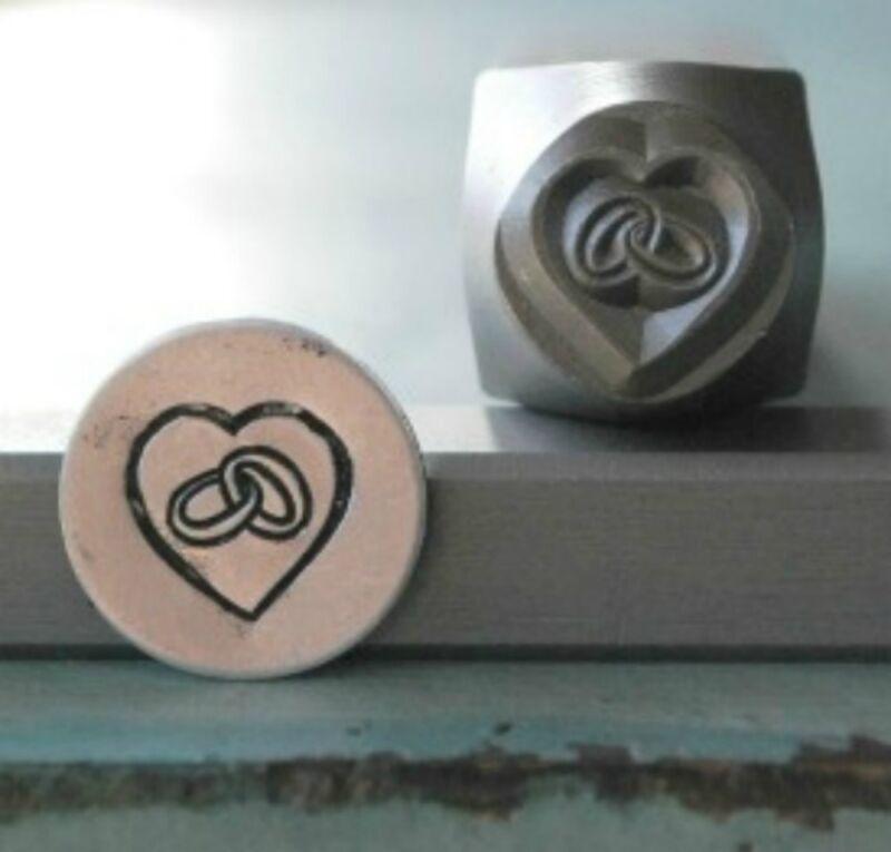 SUPPLY GUY 6mm Wedding Rings Metal Punch Design Stamp SGCH-51