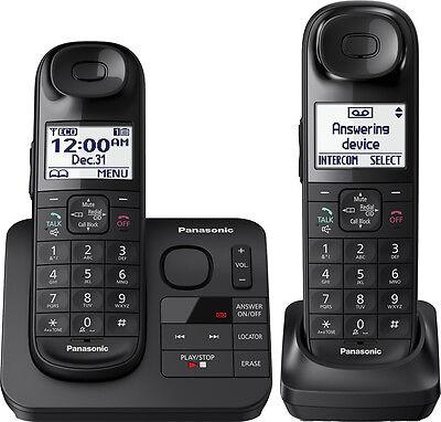 Panasonic - KX-TGL432B DECT 6.0 Expandable Cordless Phone System with Digital...