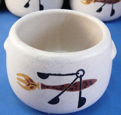 Vintage West Bend Stoneware Pottery Crock Pot Chili,Bean,Soup -