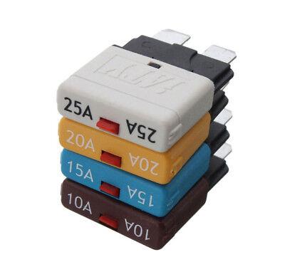 Portable Rückstellbar Fuse Circuit Breaker Manual Reset Blade Automotive 28V AHS Automotive Blade Fuse