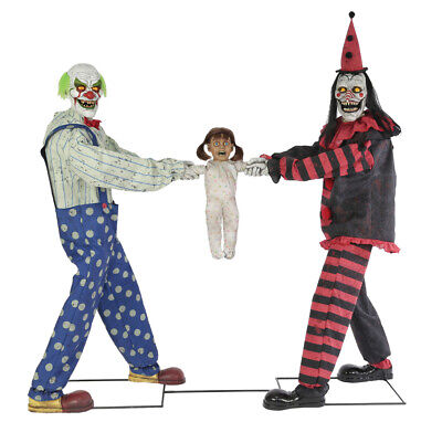 c TUG OF WAR CIRCUS CLOWNS Prop Seasonal Visions Pre-Sale (Halloween Wars Clowns)
