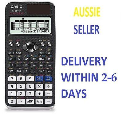 Casio FX-991EX Scientific Calculator FX 991 EX Classwiz 552 function Spreadsheet