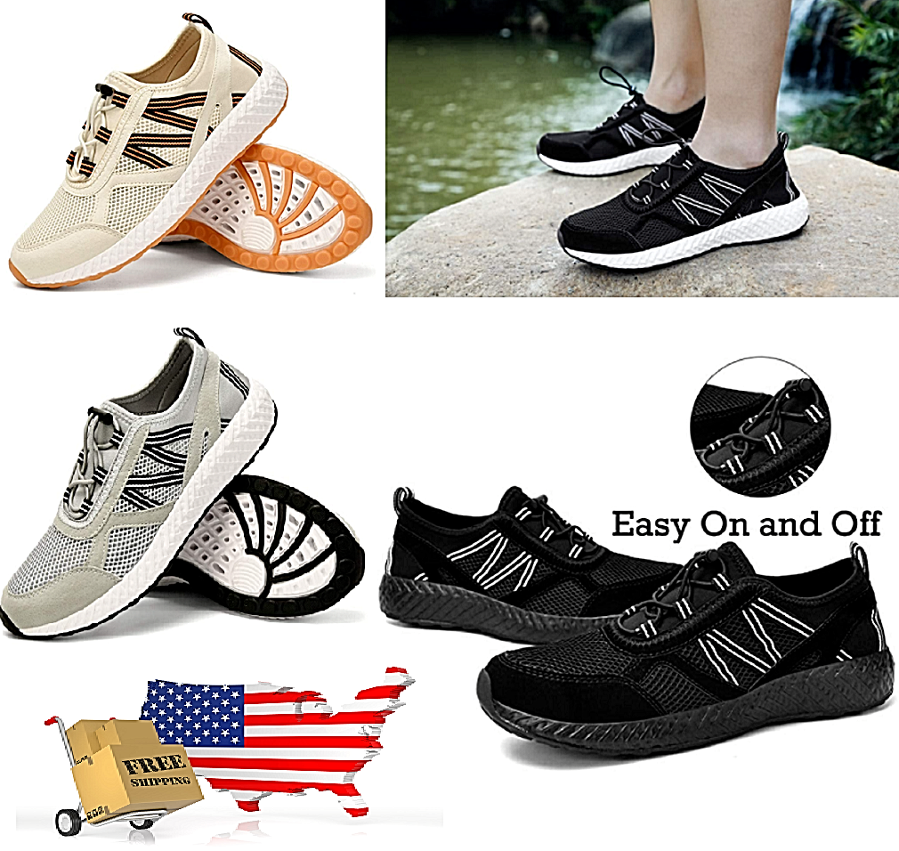 Sneakers Yoga Water Shoes Light Weight Non Slip Rubber UNISEX Stylish Breathable Athletic Shoes
