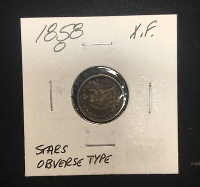 Click now to see the BUY IT NOW Price! 1858 O SEATED HALF DIME STARS OBVERSE TYPE