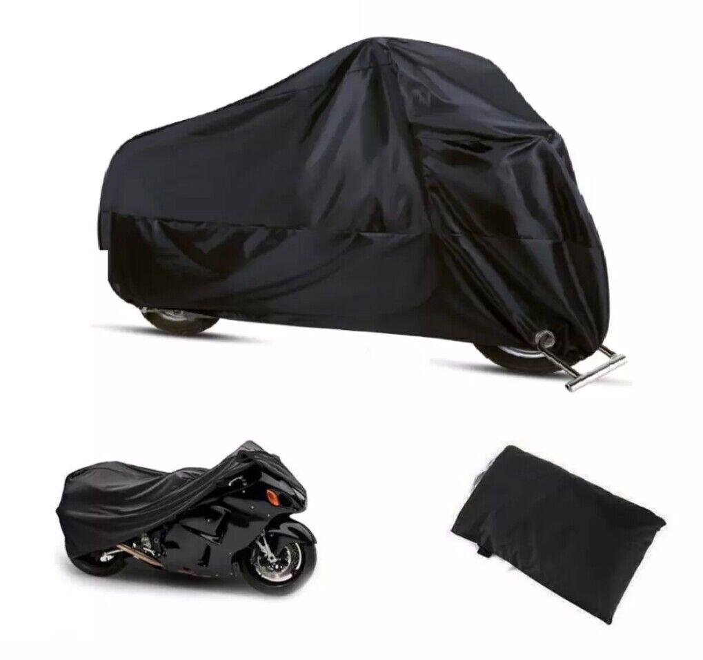 Housse de Protection pour Moto, Couverture de Moto, Bâche de Moto,Contre