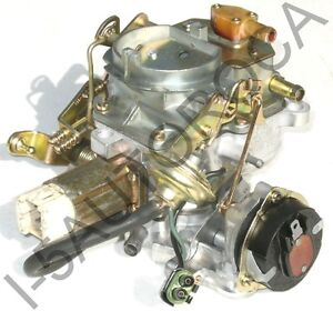 Jeep-Carburetor-2-Barrel-Carter-BBD-1982-91-258-4-2-Stepper-Motor-Orig-8384