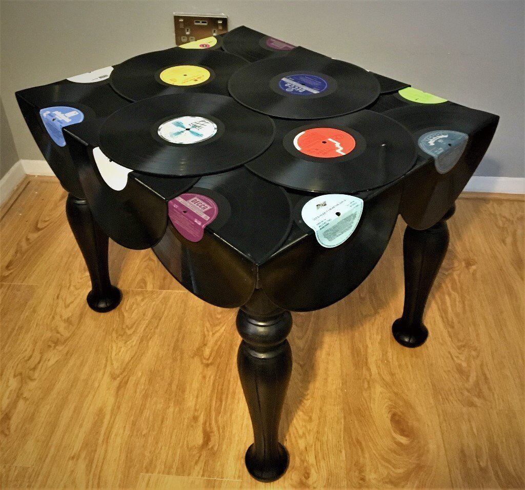 Vinyl Record Coffee Table
