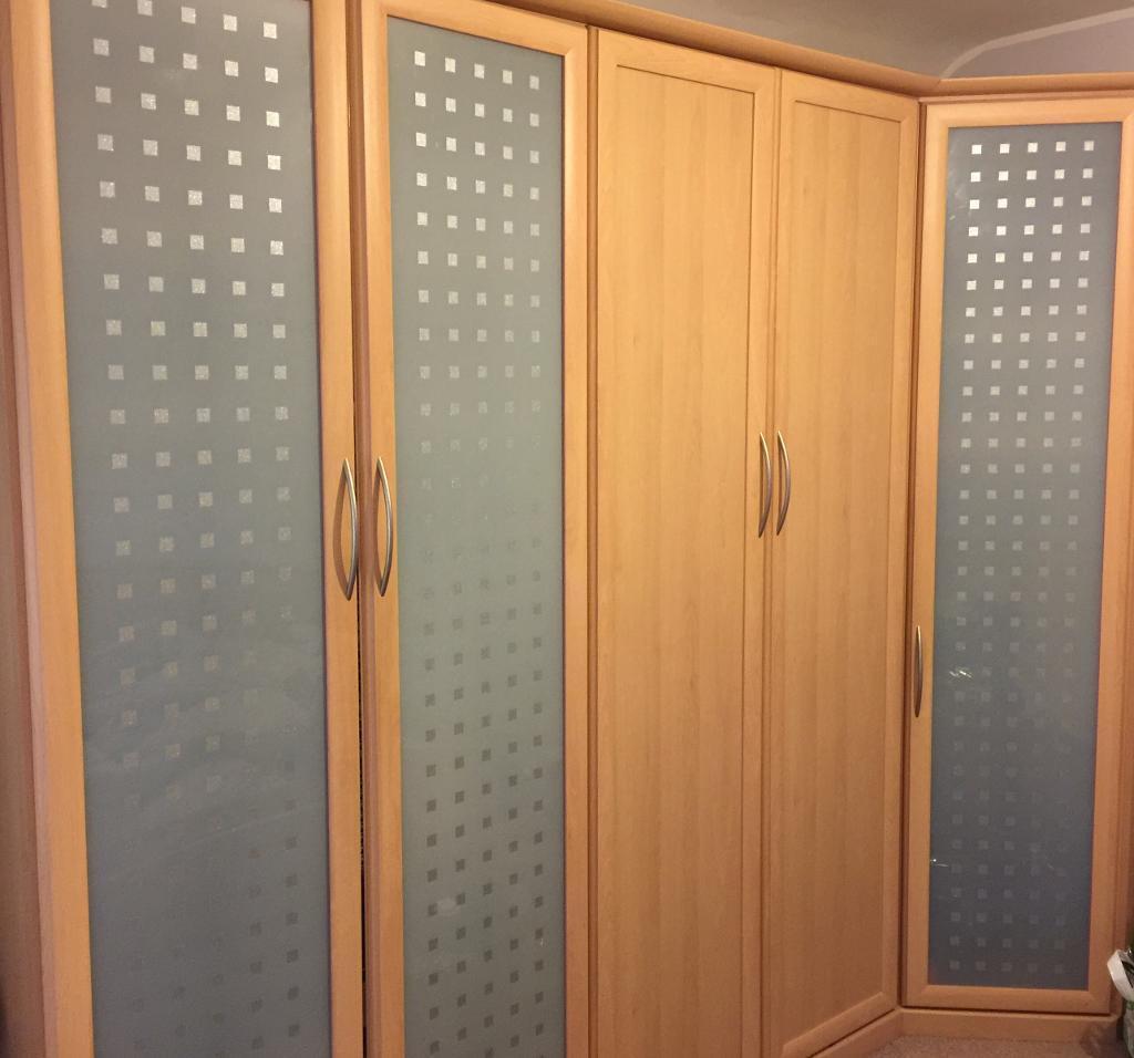 Nolte Mobel Bedroom Furniture Nolte Mobel Bedroom Set Wardrobes Bed And Bedside Tables In