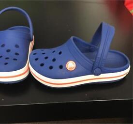 Size 10 kids genuine crocs