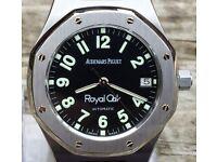 Men's Audemars Piguet Royal Oak Automatic. Boxes, manuals+winder.