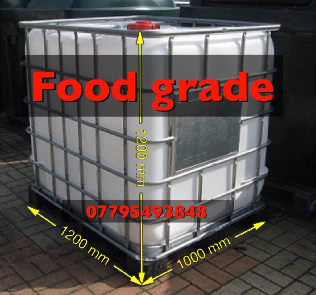 Fish storage movement tank 1000 litre